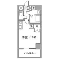 【秋割】アットイン渋谷2-1間取図