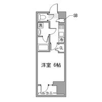 アットイン横浜関内4-1間取図