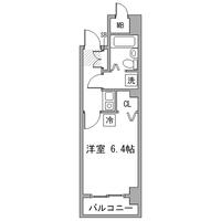 アットイン日本橋1-1間取図