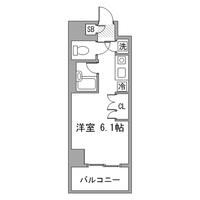 【秋割】アットイン六本木4間取図