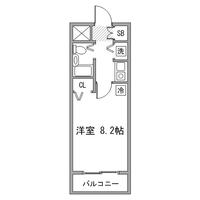 アットイン日本橋1-2間取図