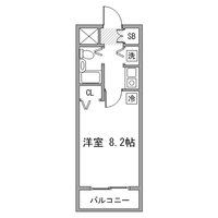 【Happy割】アットイン日本橋1-2間取図