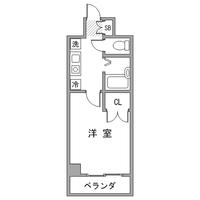 アットイン新宿8間取図
