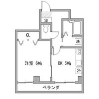 【冬割】アットイン新小岩2間取図