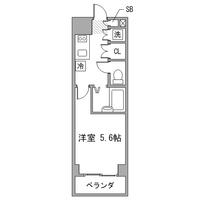 【夏割】アットイン錦糸町1間取図