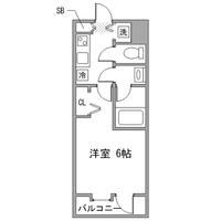 アットイン横浜6間取図