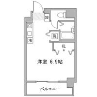 【秋割】アットイン秋葉原2間取図
