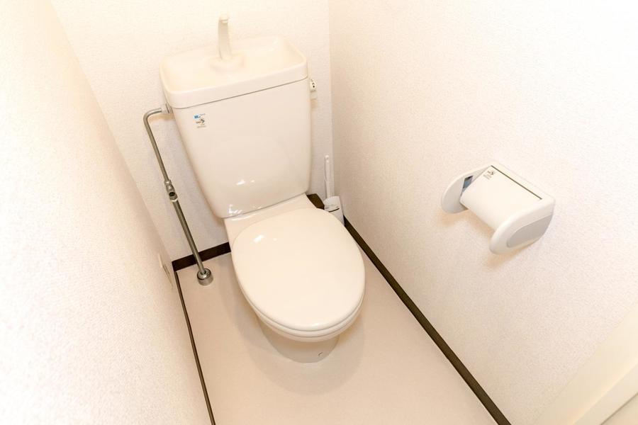 衛生面が心配なトイレもセパレートタイプで安心