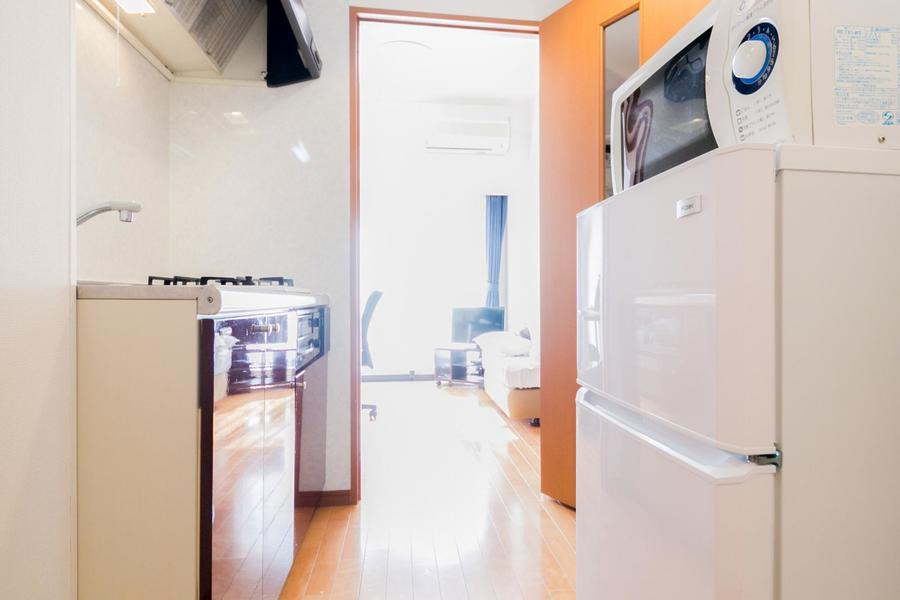 廊下とお部屋の間には仕切り扉を設置。来客時も安心です