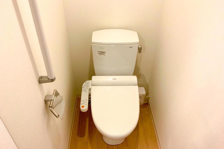 お手洗いはセパレートタイプで衛生面も安心!
