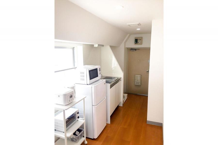 冷蔵庫や洗濯機をはじめとした家電類もご用意しております