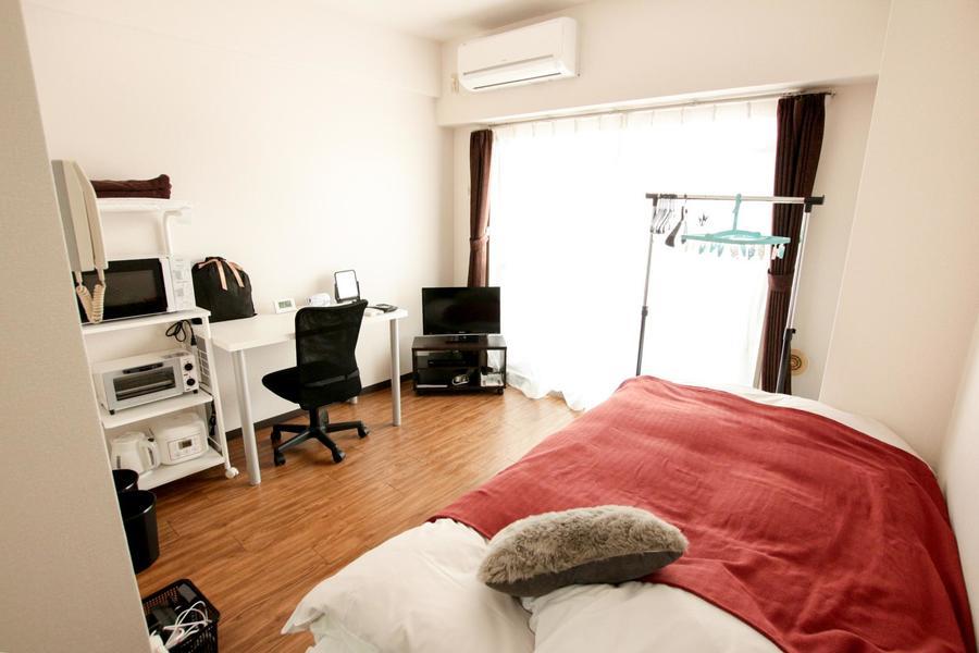 シンプルで住みよいワンルームタイプのお部屋です