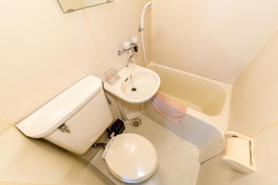 水回りは使いやすさ、お掃除のしやすさを兼ねたユニットタイプ