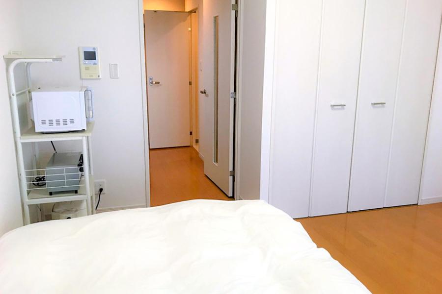 お部屋は段差のないバリアフリー仕様。足元の不安な方も安心です