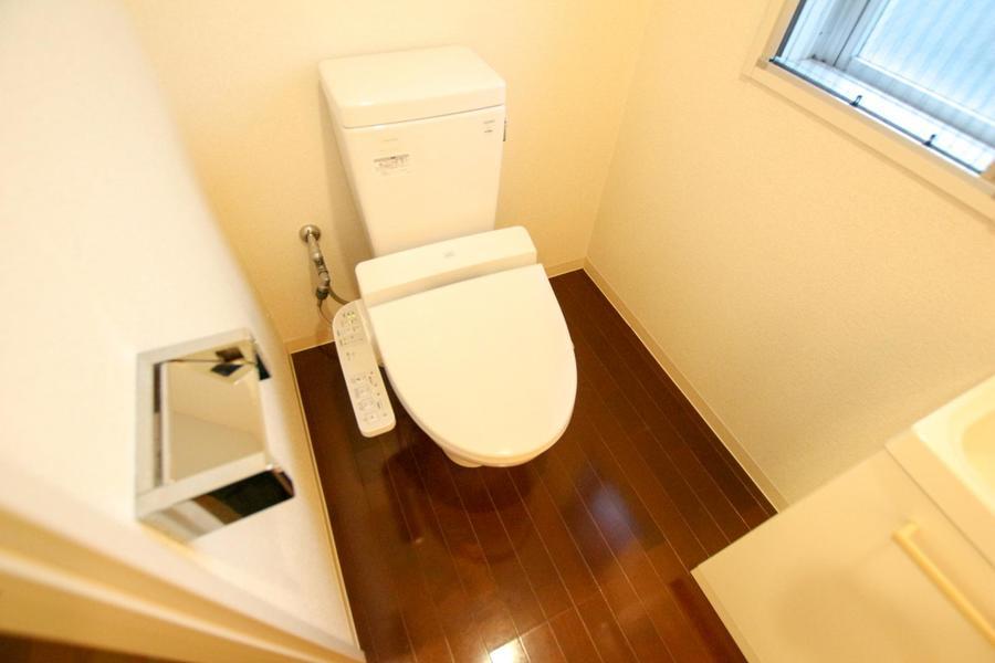 お手洗いは衛生面でも安心なセパレートタイプ
