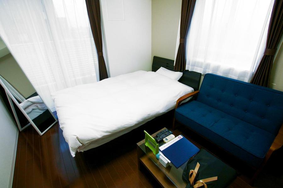 お部屋はコンパクトな6.2帖。狭すぎず広すぎずの絶妙な間取りです