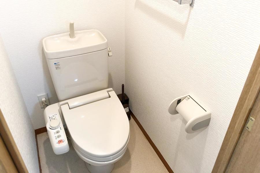 お手洗いは人気のセパレート式。衛生面でも安心ですね