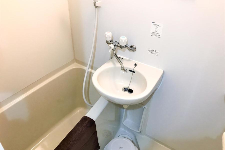 毎日の疲れを癒やしてくれるバスルーム