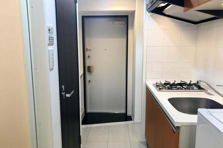 玄関の鍵はダブルロックタイプ。防犯面も抜かりありません