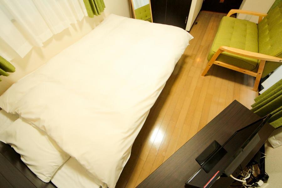 広すぎず狭すぎず、長期滞在にもオススメのお部屋です