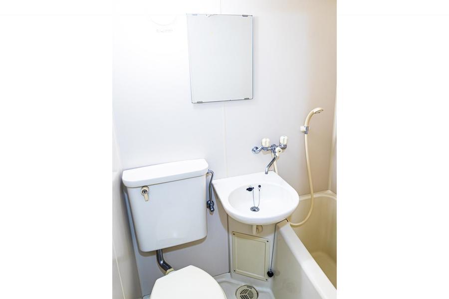 お風呂やトイレなどの水回りを一箇所に集約して使いやすさアップ