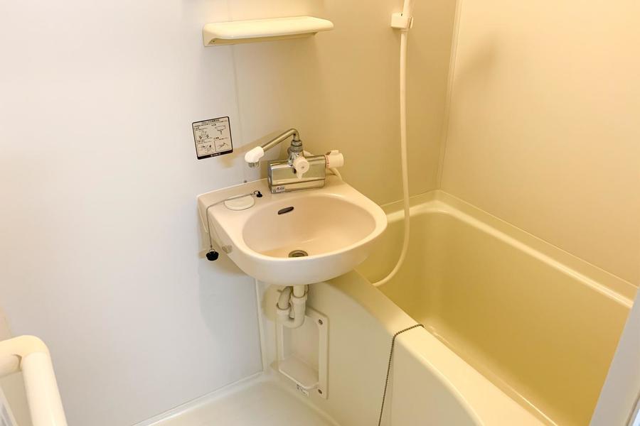 人気の浴室乾燥機能搭載。花粉や汚れを気にせずお洗濯物が出来ます