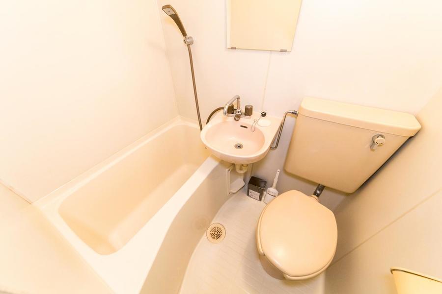 トイレやお風呂など水回りは1箇所に集約して、お掃除もラクラク