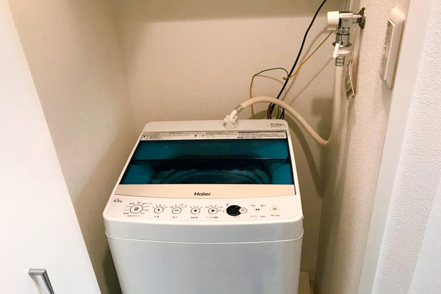 衛生面・防犯面で安心の室内置きタイプ