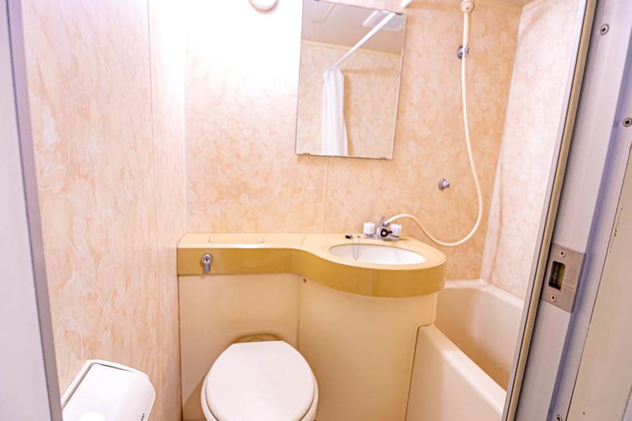 バス・トイレは使いやすく便利なユニットバスタイプ