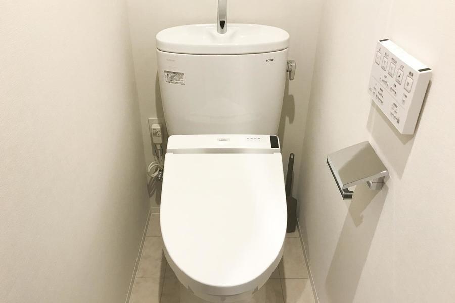 お手洗いは独立タイプ。衛生面でも安心です