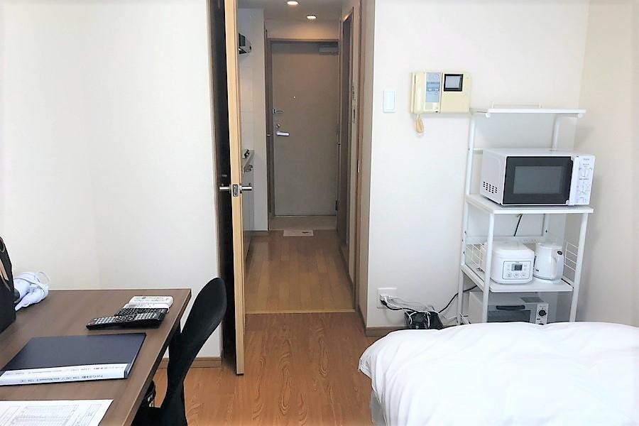 仕切り扉はプライバシー確保や室温管理に役立ちます
