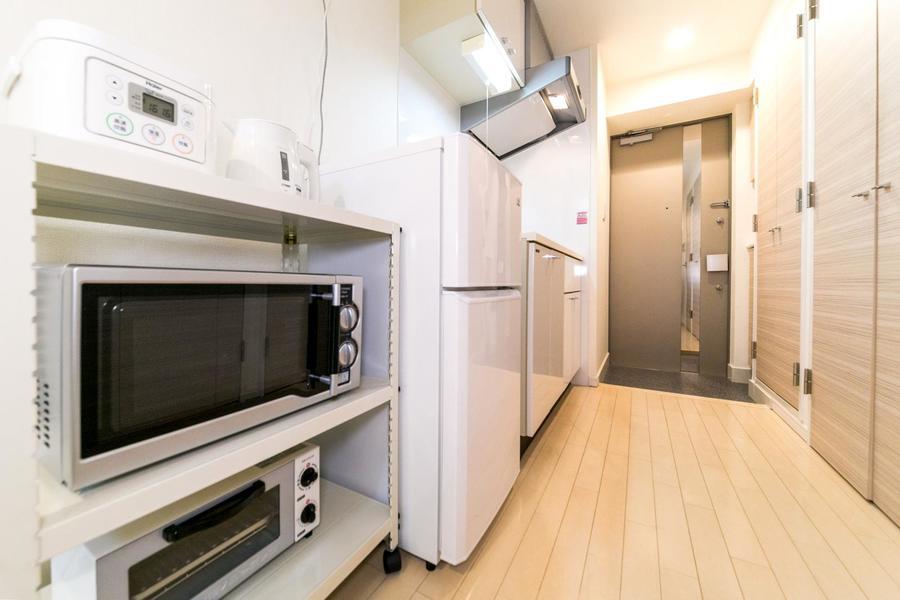 シンク前のスペースは広めに取られており、お料理も移動もスムーズ