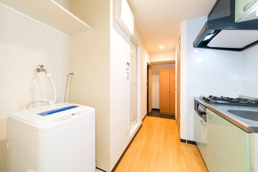 廊下は全体的に広めに取られており、動きやすいつくり