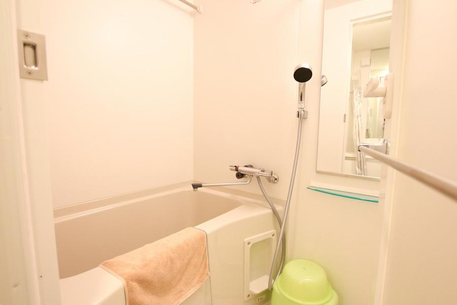 お風呂は洗い場も広く取られ、ゆったりと過ごせます