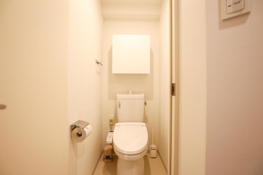 お手洗いはシャワートイレ式。セパレートタイプで衛生面も安心!