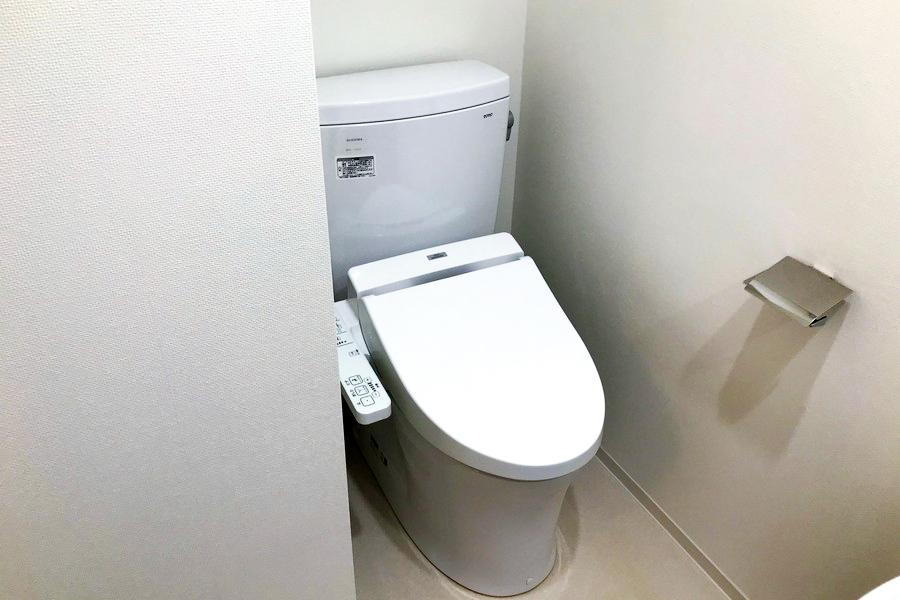 お手洗いは衛生面でも安心の独立タイプとなっています
