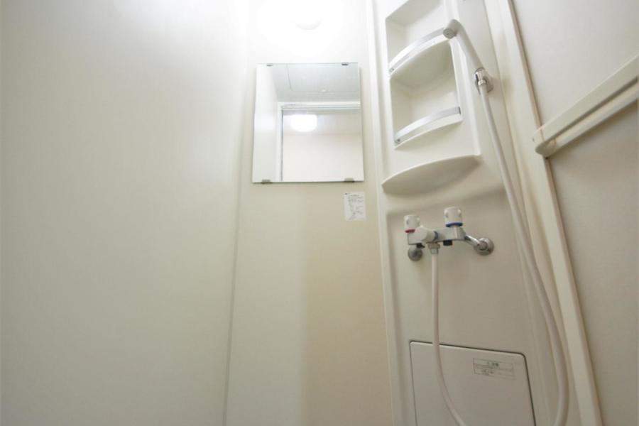 お掃除が簡単なシャワールーム