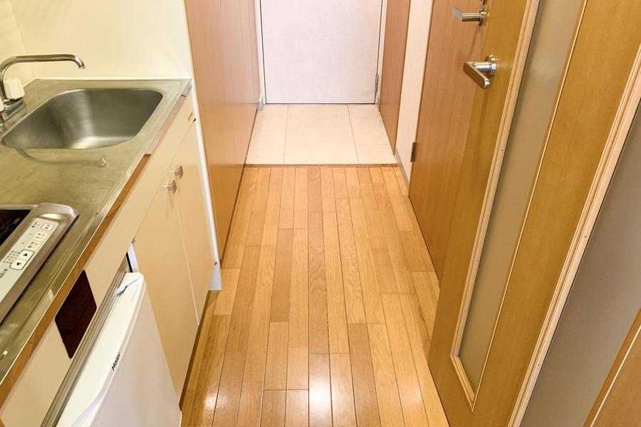 廊下は幅もしっかり取られ動きにくさもありません