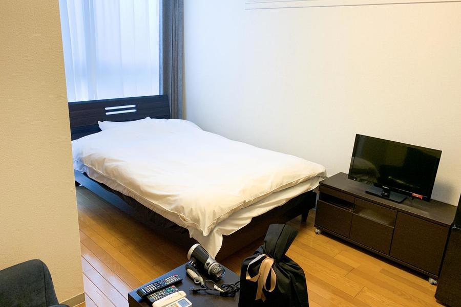 シンプルかつ過ごしやすい1Kのお部屋。6帖と程よい広さです