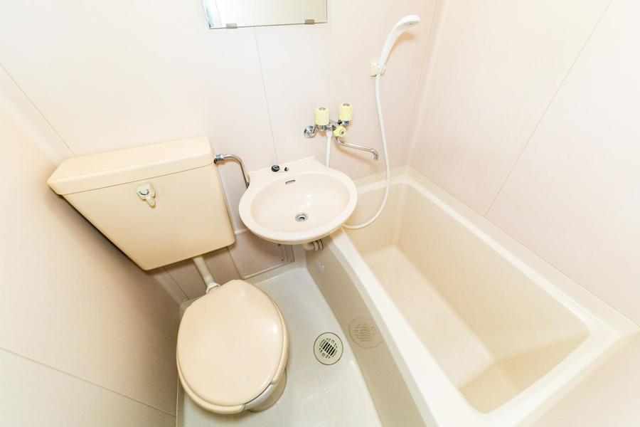 トイレ、浴室など水回りは一箇所に集約。お掃除もらくらくです