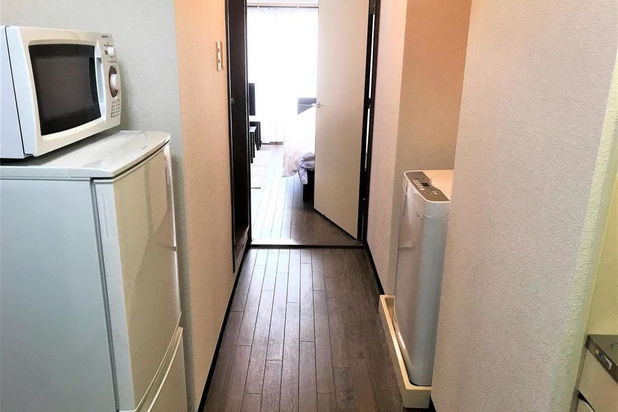 お部屋と廊下の間の扉を閉めれば室温管理もバッチリ