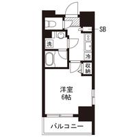【ウィンターセール】アットイン川崎1間取図