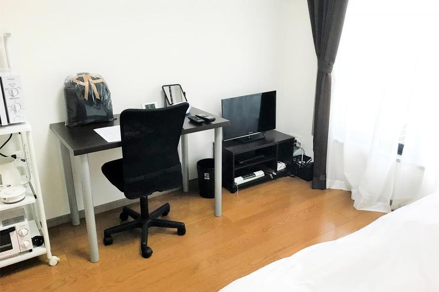 ほどよい6帖のお部屋。家具家電を設置してもゆとりがあります