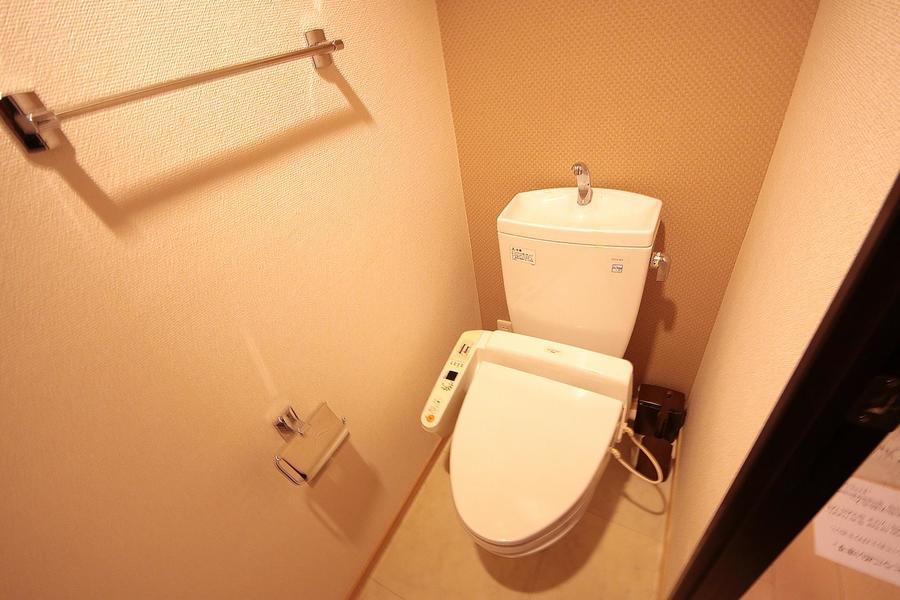 セパレート式のお手洗いで衛生面も安心です
