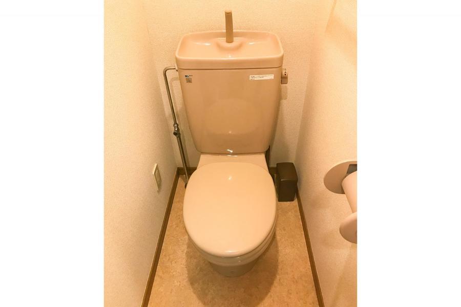 お手洗いはセパレート式。衛生面でも安心です