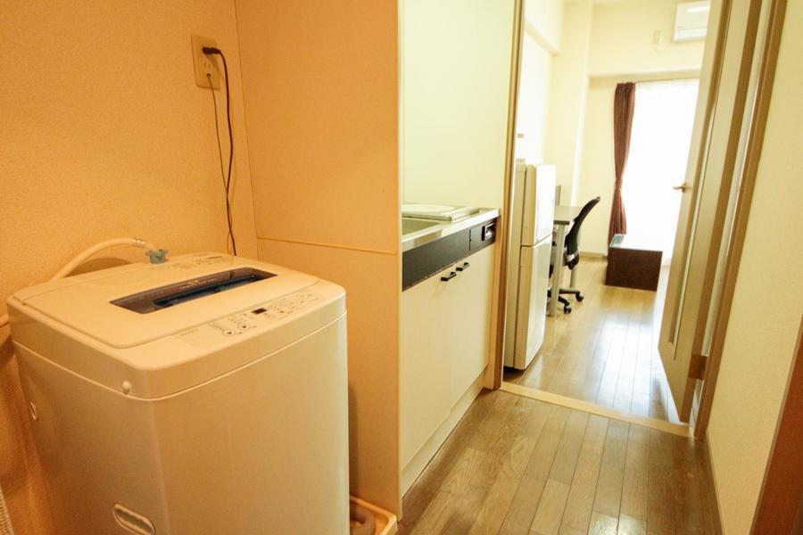 廊下とお部屋を仕切る扉はプライバシーに室温管理にと役立ちます