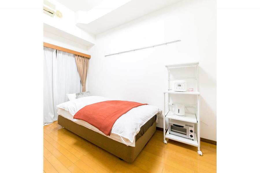生活に必要な家具家電はすべてご用意済み。お荷物一つでご入居いただけます