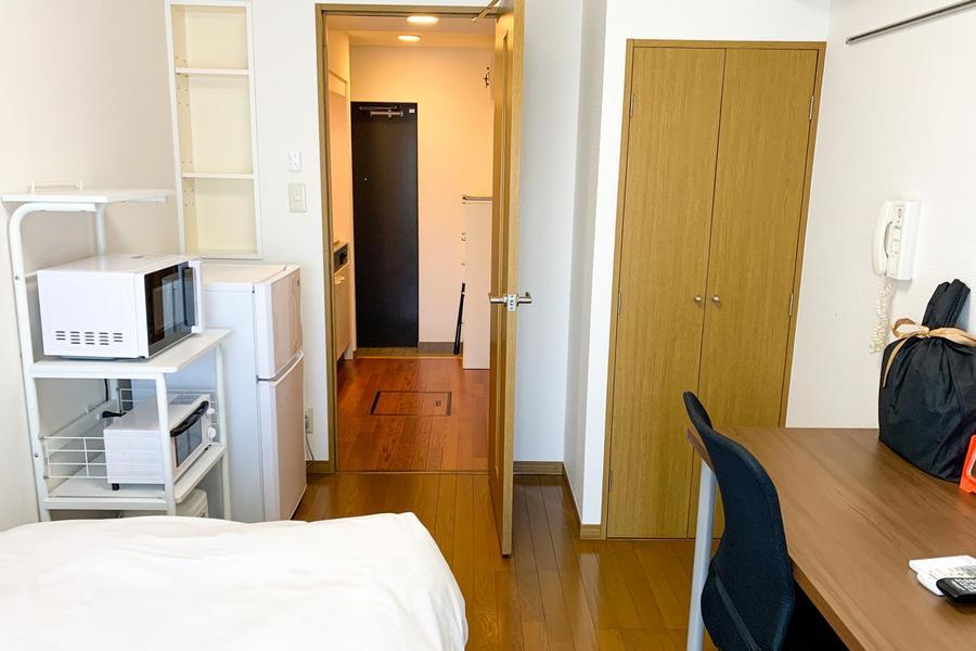 仕切り扉はプライバシー確保・室温管理に役立ちます