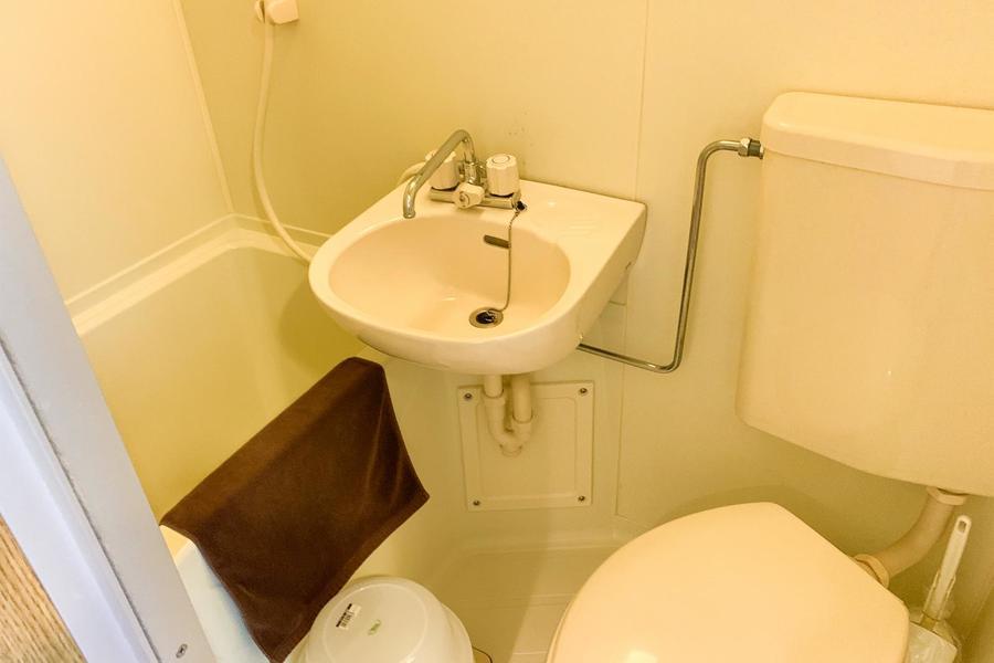水回りはお掃除がしやすいユニットタイプ