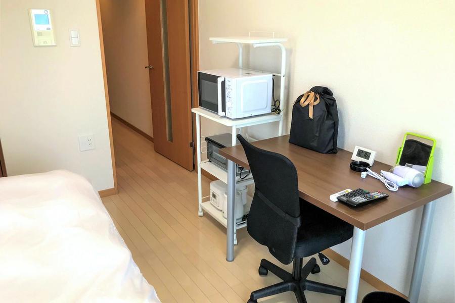 ご入居後すぐご利用できる家具やキッチン家電もご用意しております